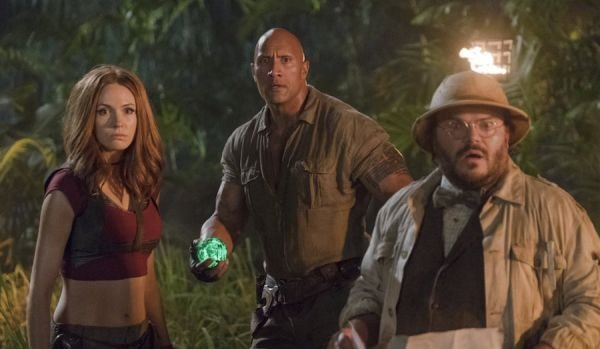 Karen Gillan Dwayne Johnson Jack Black