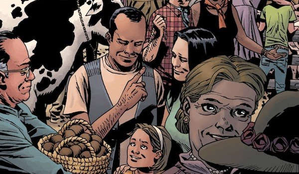the walking dead fair comic cover