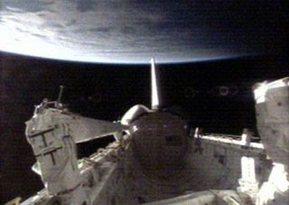 Mission Atlantis: Astronauts Scan Shuttle Heat Shield for Damage