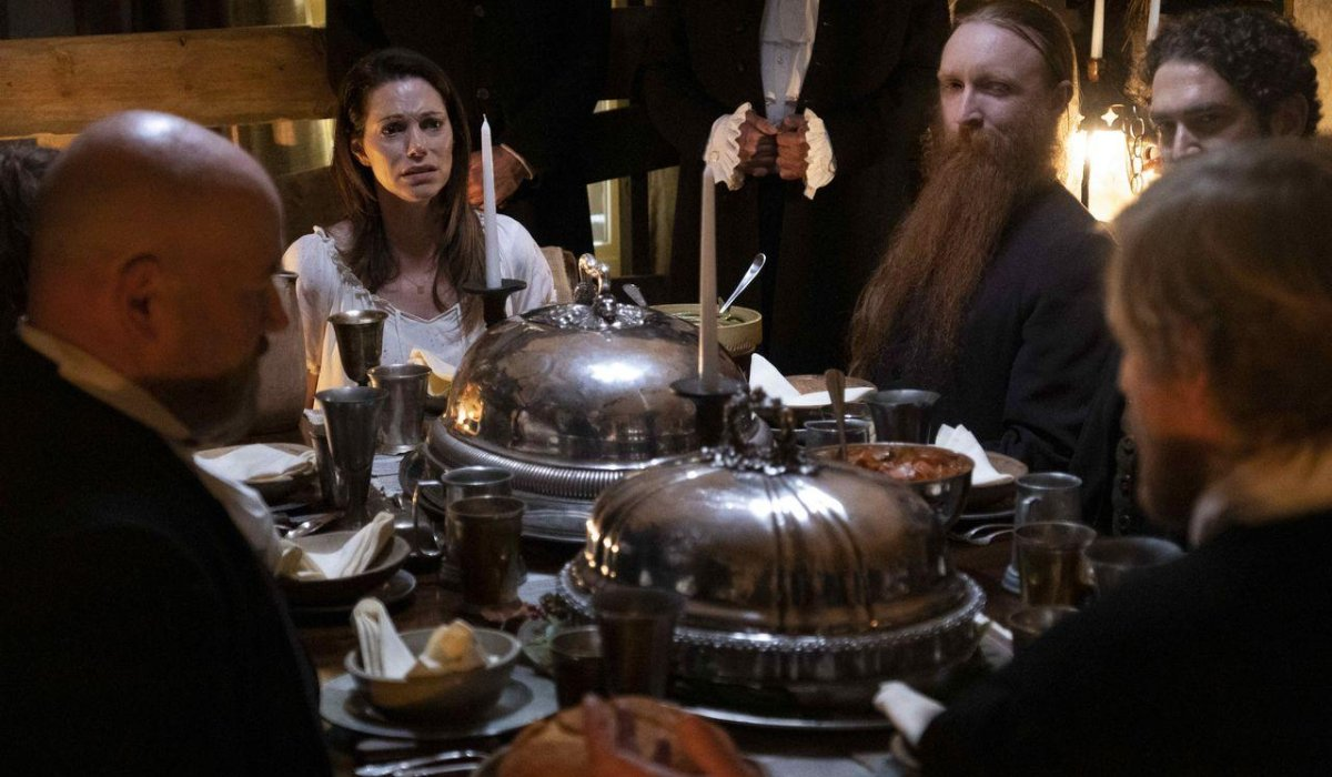 Into The Dark: Pilgrim a rather tense situation over dinner