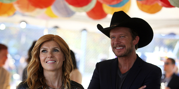 Connie Britton and Will Chase in Nashville