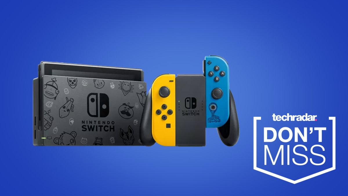 Nintendo Switch Fortnite Edition Bundle Is Now Up For Pre Order Techradar