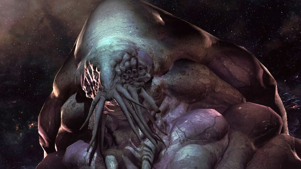 A Xel'Naga from the StarCraft series.