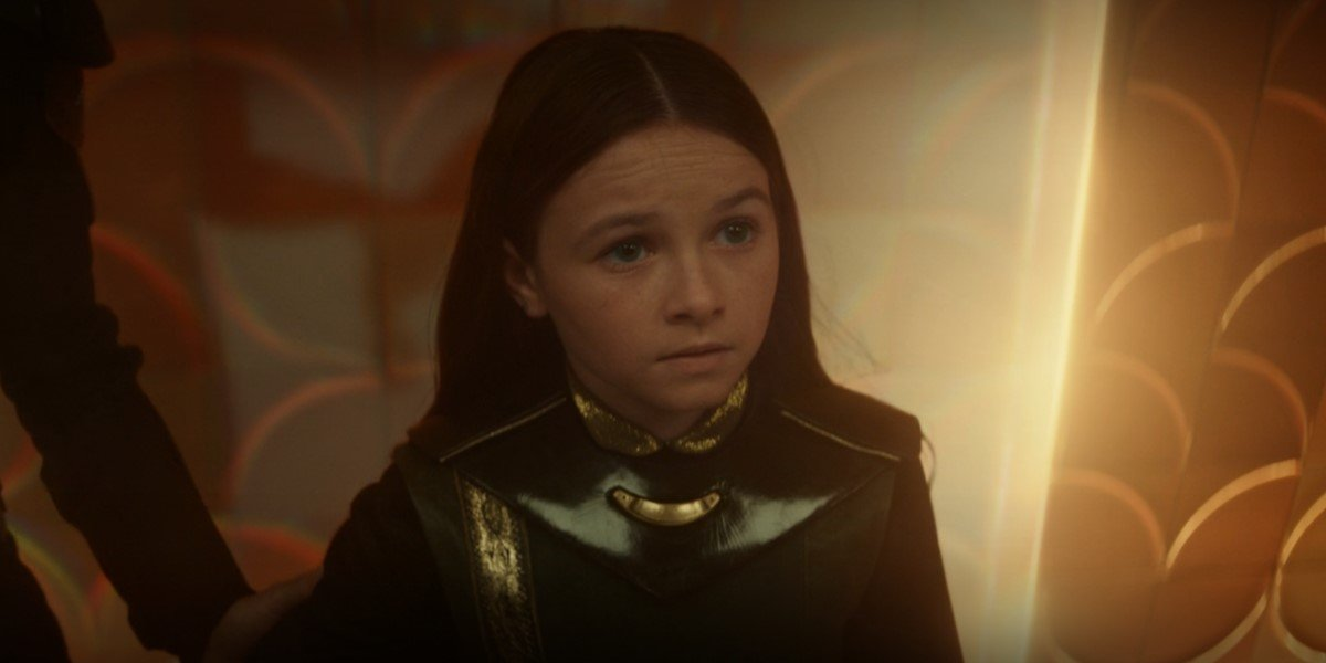 cailey fleming as young sylvie in loki episode 4