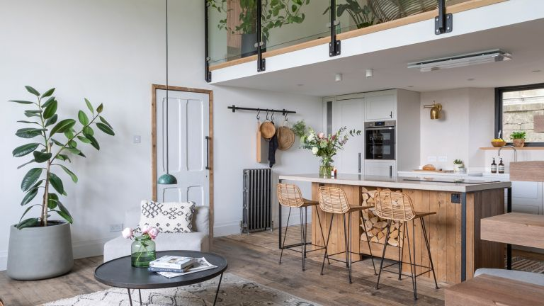 Kate and Mike's schoolhouse renovation took more than their share of blood, sweat and tears – but the unique open-plan home they've created is worth he effort