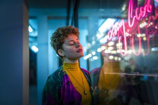 10 low light portrait tips: Take beautifully neon-lit photographs at night