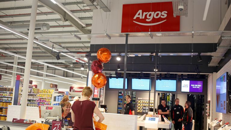 Argos online deliveries