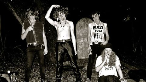 The Cavemen band photograph