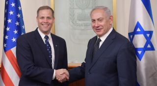 Jim Bridenstine and Benjamin Netanhahu