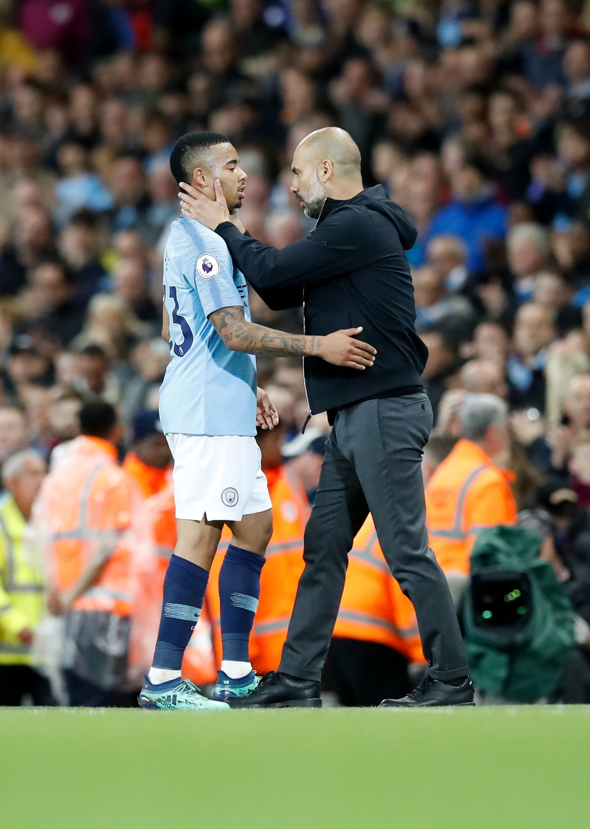 Gabriel Jesus 'one of our best signings' says Pep Guardiola after City victory