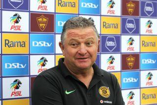 Gavin Hunt head coach of Gavin Hunt, head coach of Kaizer Chiefs
