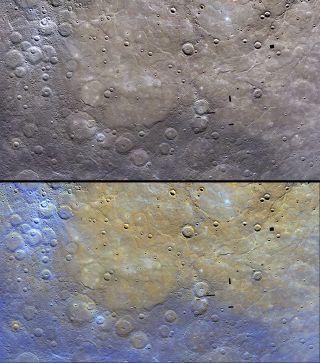 mercury surface northern plains