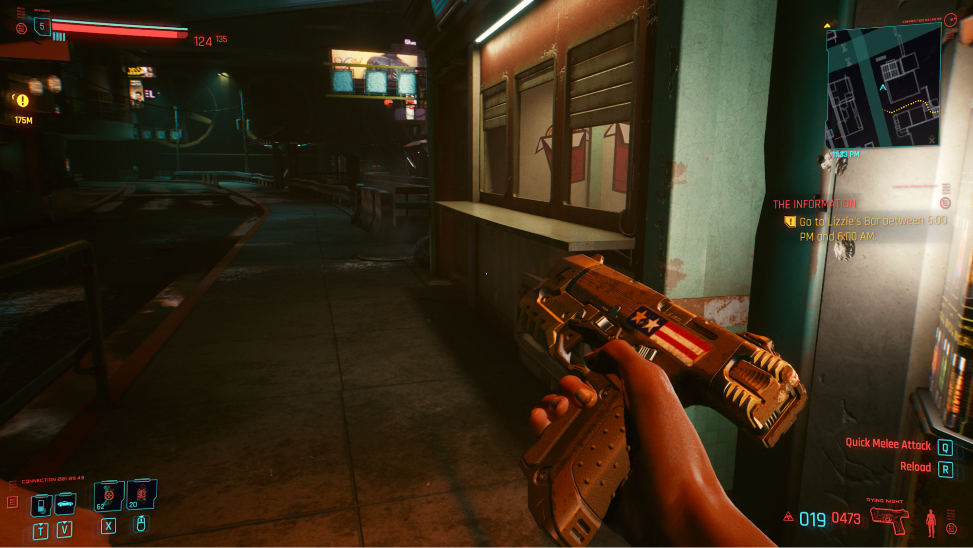 Get this powerful pistol for free straight away in Cyberpunk 2077