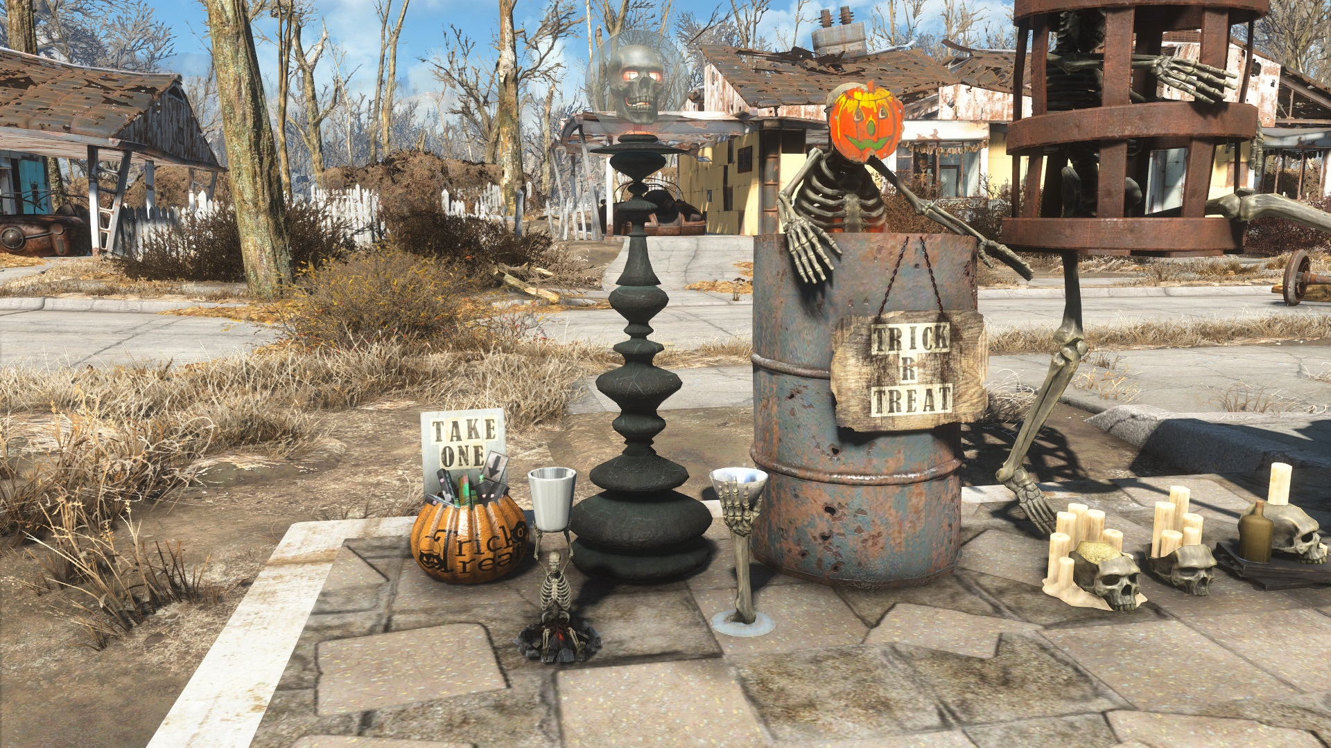 Get your Fallout 4 settlements ready for Halloween with this mod | PC Gamer