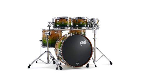 DS Drums Rebel Birch/Mahogany Custom Kit review | MusicRadar