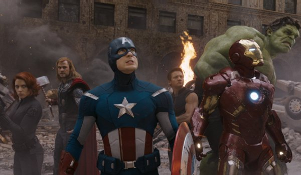 The Avengers lined up to take on the Chitauri