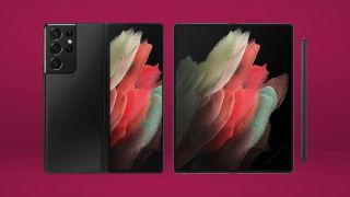 Galaxy Z Fold 3 render