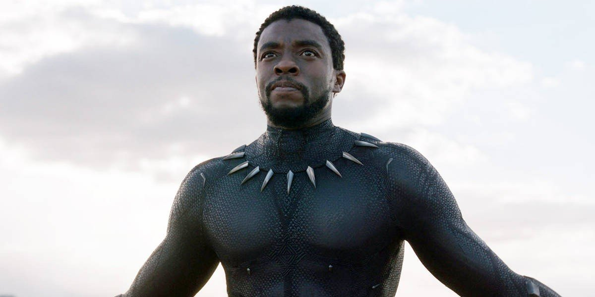 Chadwick Boseman as T'Challa/Black Panther in Black Panther (2018)