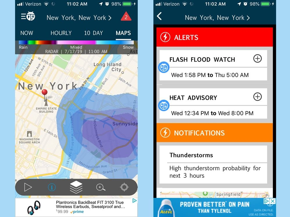 Best Weather Apps of 2019 - Forecast and Radar Apps for