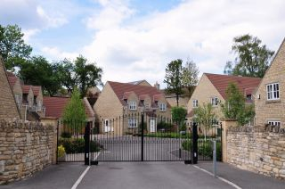 Gated community and homes