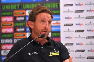 Mitchelton-Scott head sports director Matt White