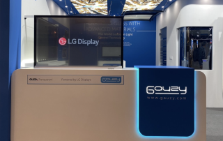 LG Display and Gauzy collaborate to create a new transparent OLED