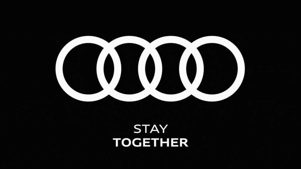 Audi's new socially distanced logo misses the mark