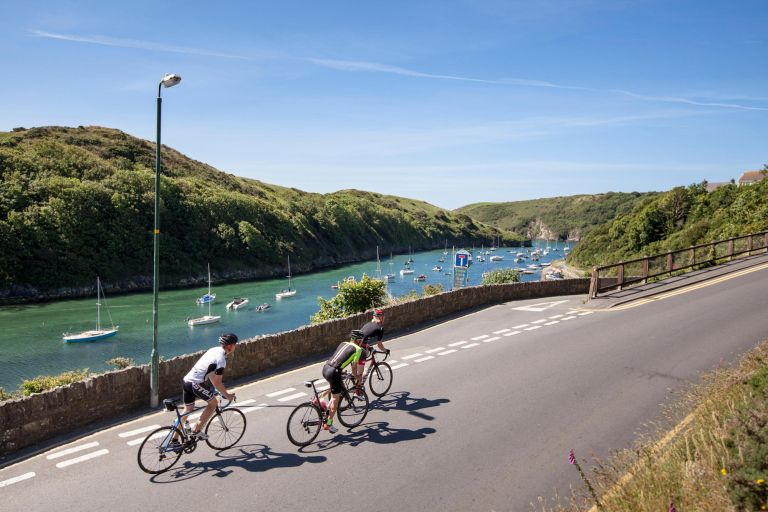 The coastal roads of Pembrokeshire make for some stunning views