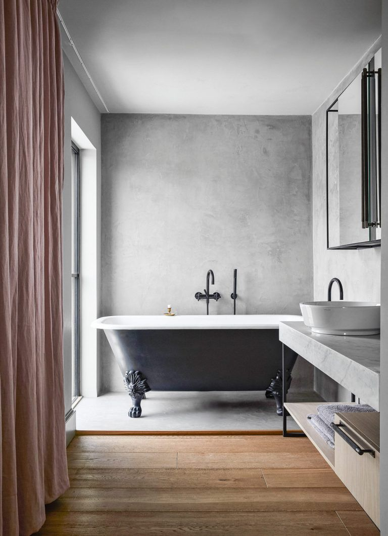 Concrete Bathroom Ideas The Best Looks To Add A Cool Industrial Edge Livingetc