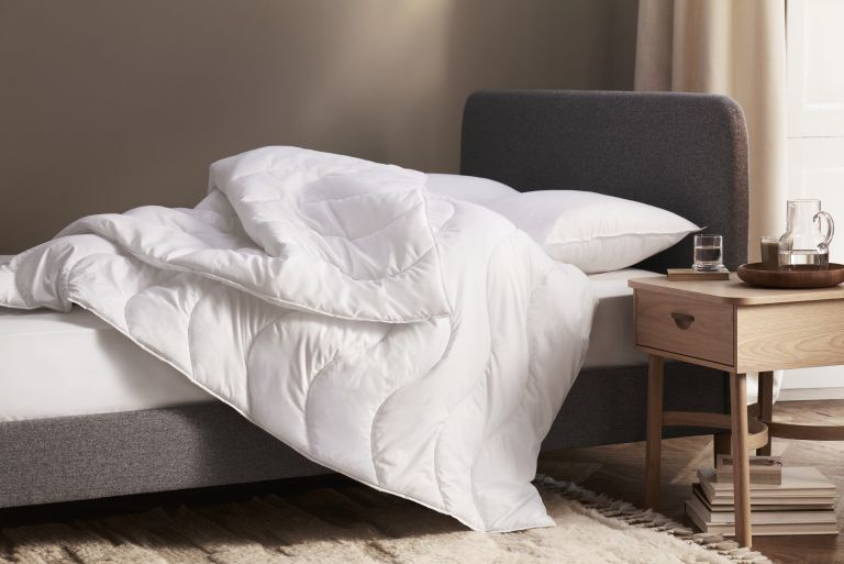 How to wash a duvet - John Lewis synthetic duvet