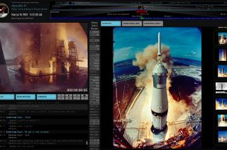 "Ben Feist's new website, ""Apollo 11 in Real Time,"" replays the first moon landing mission 50 years later."