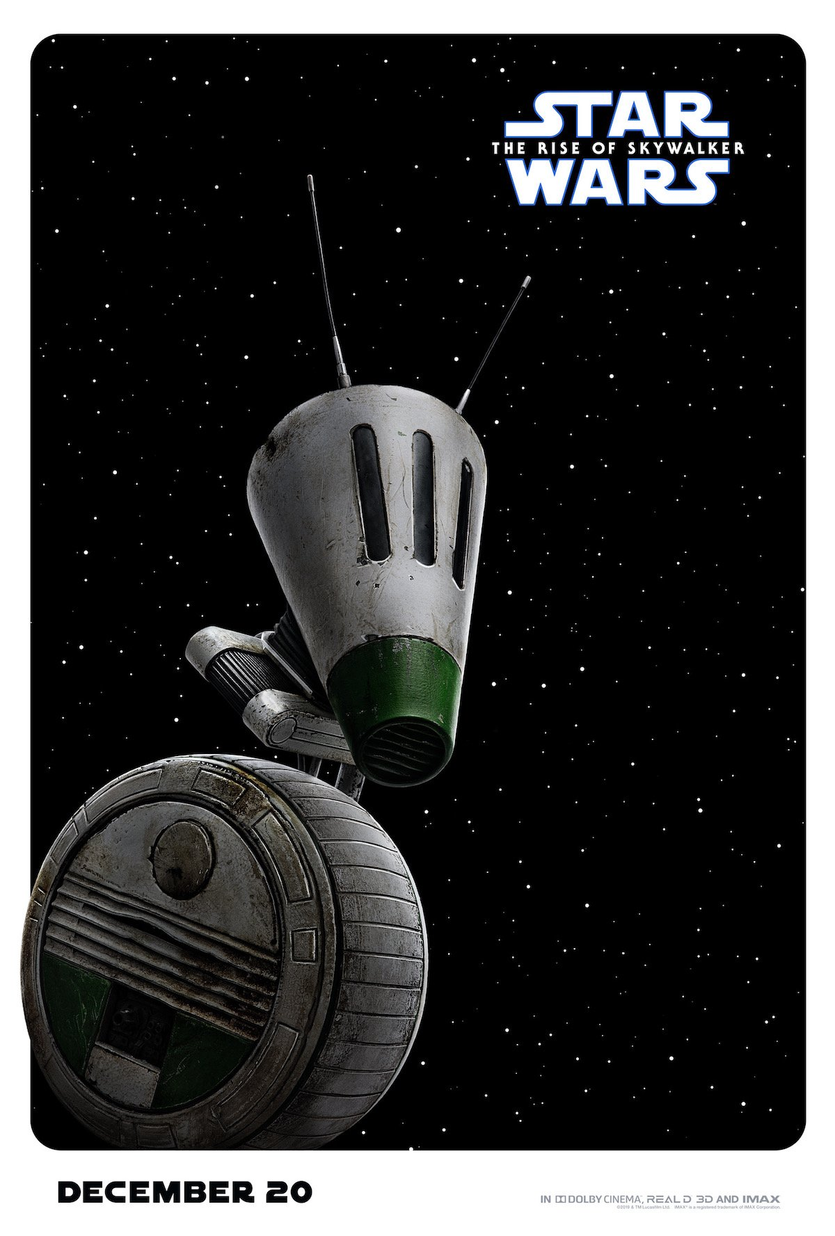 D-O droid, Rise of Skywalker character poster