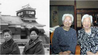 Umeno Sumiyama and Koume Kodama of Japan are the world's oldest twins.