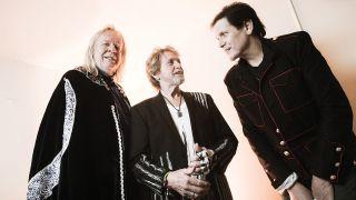 The Yes Formerly Known As ARW, L-R: RickWakeman, Jon Anderson, Trevor Rabin