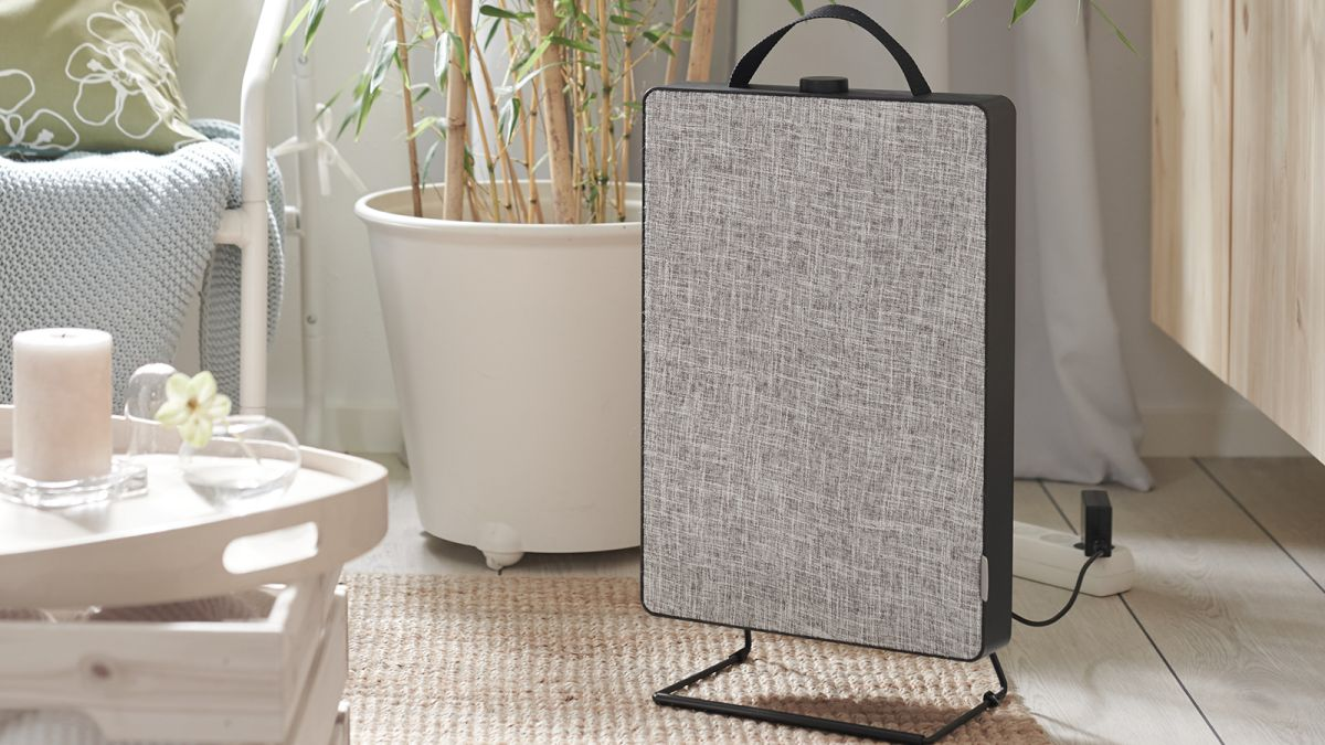 IKEA's stylish new air purifier will blend in quietly in any room of your home