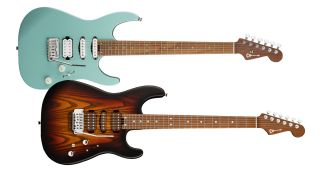 Guthrie Govan and Rick Graham signature Charvel electric guitars