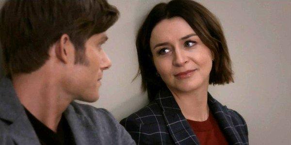 Link and Amelia on Grey's Anatomy Season 15 ABC