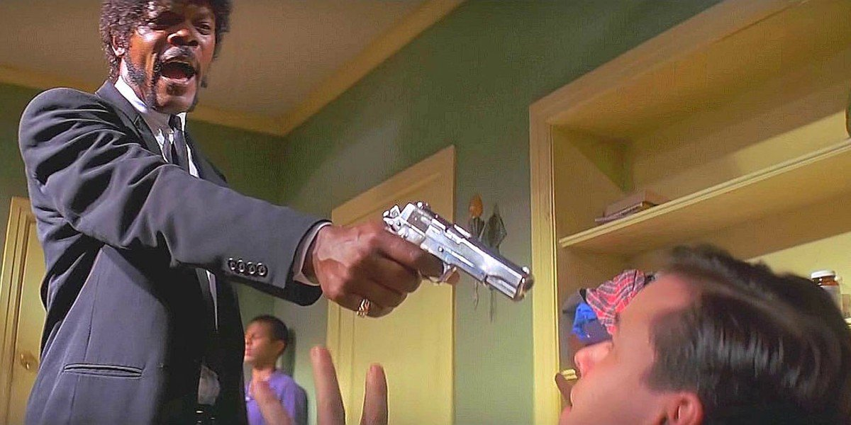 Samuel L. Jackson, Frank Whaley - Pulp Fiction