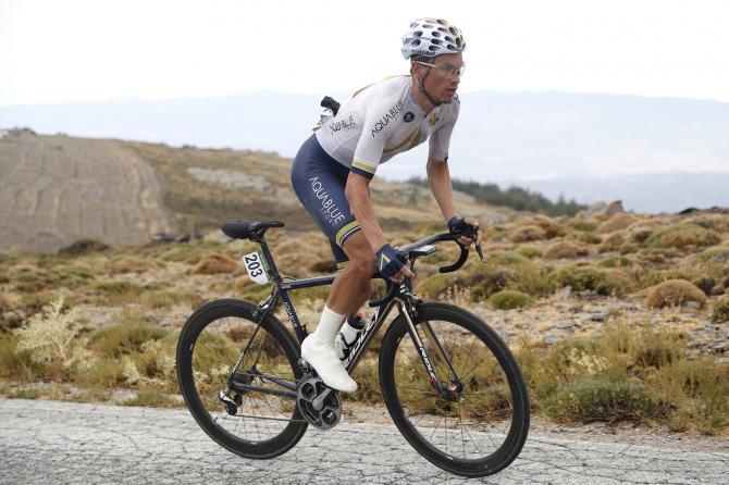 Stefan Denifl at the Vuelta a España