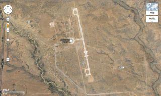 Spaceport America Satellite View