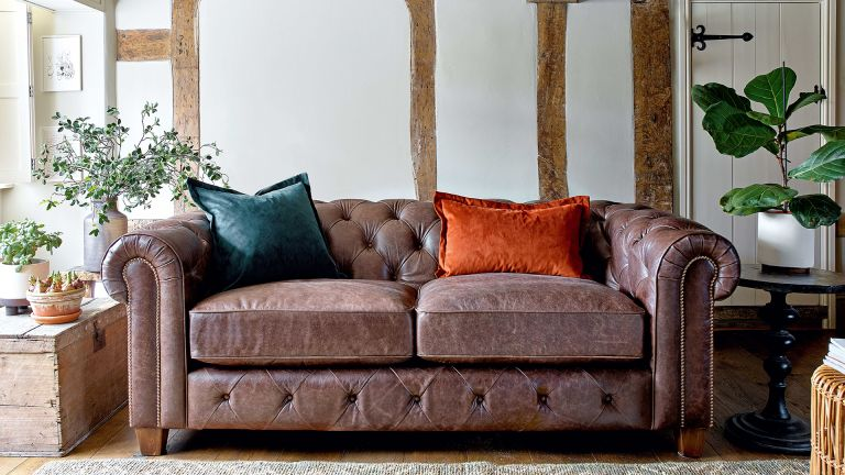 how to repair a leather couch