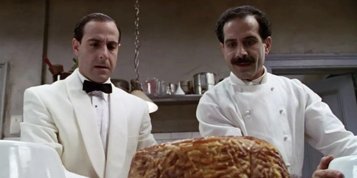 Stanley Tucci and Tony Shalhoub in Big Night