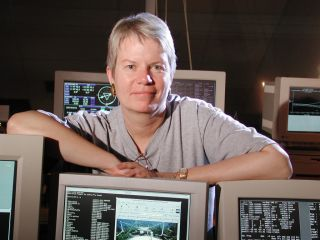 Astronomer Dr. Jill Tarter is Director of the Institute's Center for SETI Research and also holder of the Bernard M. Oliver Chair for SETI.