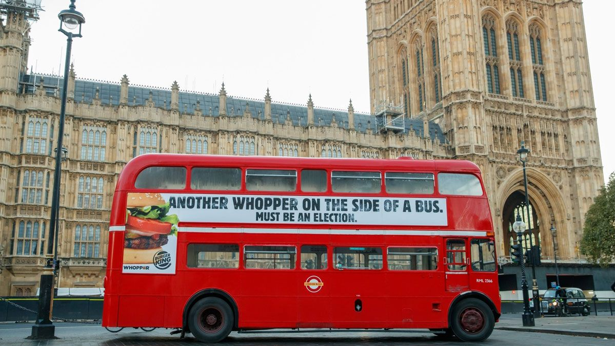 Burger King trolls parliament in cheeky campaign