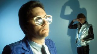 Buggles retro shot with Trevor Horn in big glasses