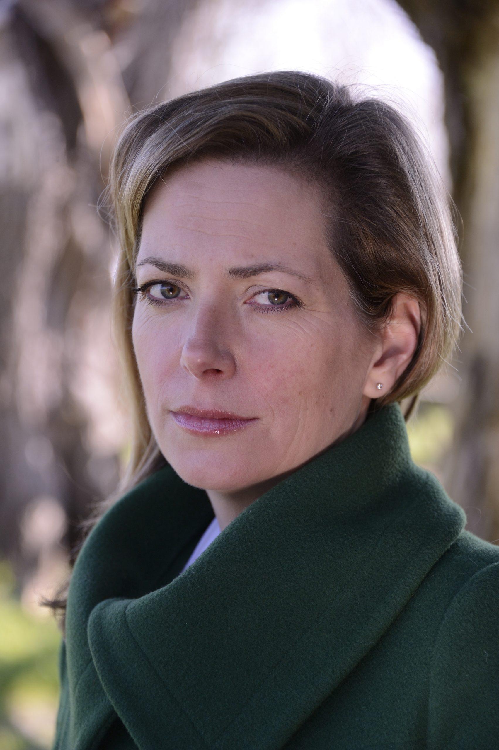 Author Sarah Vaughan