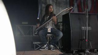 Tye Trujillo backstage