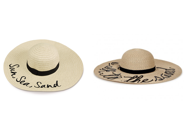 53aaf55bffd006 Also in the range is a ladies summer hat which looks strikeningly similar  to a designer one retailing in a famous department store.