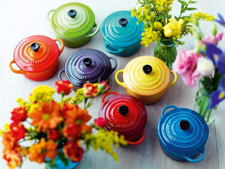 Le Creuset sale: casserole dishes in different colours