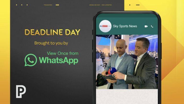 Sky WhatsApp Harry Pinero Transfer Deadline Day